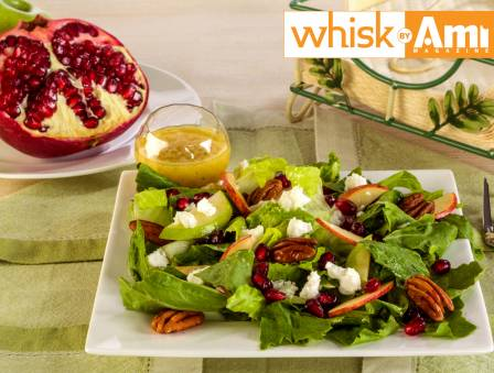 Pomegranate Feta Cheese Salad