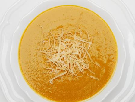 Potato, Carrot, and Cheese Soup