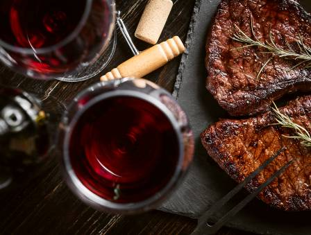 The House of Steak and Wine