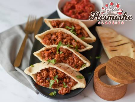 Sloppy Joe Pita Sandwiches