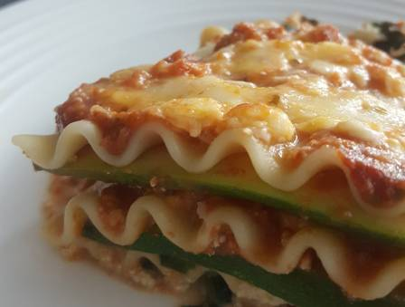Spinach-Cheese Passover Lasagna