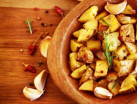 Hot and Spicy Barbecue Potatoes