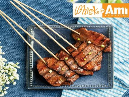 Sweet and Sticky BBQ Beef Sticks