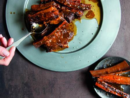 Sweet and Tangy Spare Ribs