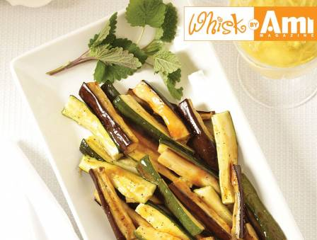 Tangy Zucchini and Eggplant Sticks