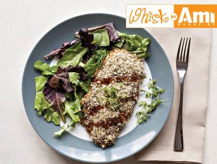 Teriyaki Herb-Crusted Barramundi