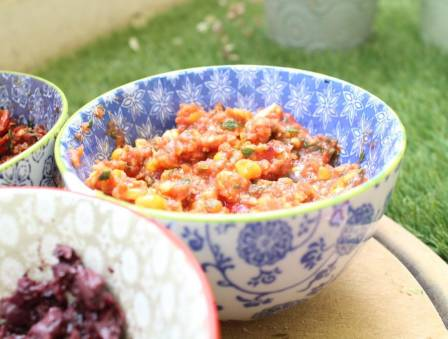 Toasted Corn Salsa