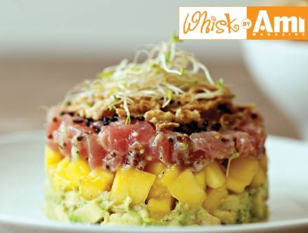 Layered Tuna Tartar