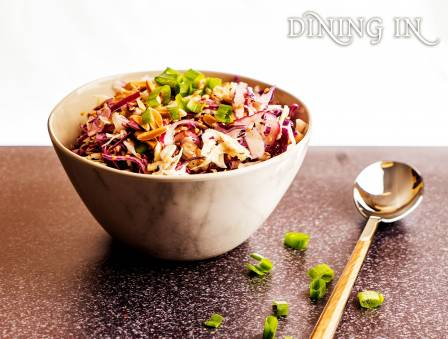 Two Tone Cabbage Salad