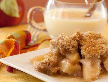 Warm and Soothing Apple Crisp