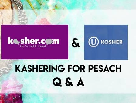 Kashering for Passover: Live Q & A