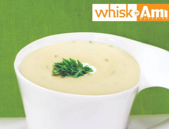 Cream of Cauliflower Soup (Mock Potato Soup, Non-Dairy)
