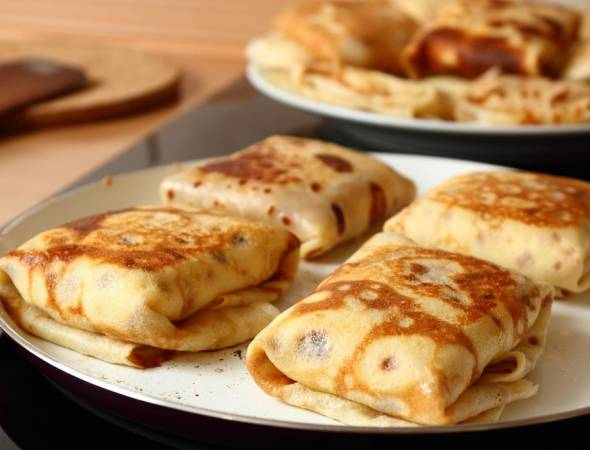 Stage Deli's Cheese Blintzes