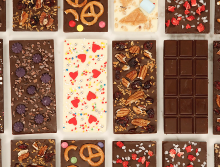 DIY Personalized Chocolate Bars