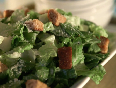 This Fresh, Light Caesar Salad is the Perfect Midweek Dish