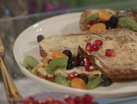 Mother's Day Morning: Skinny French Toast