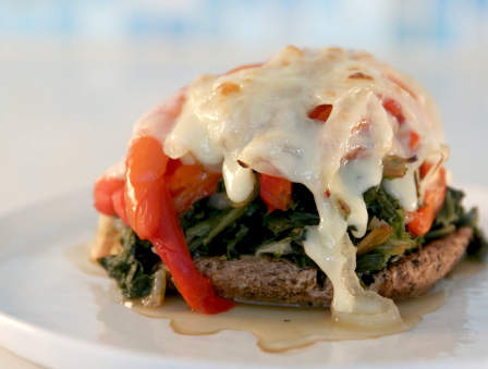 Vegetable Portobello Towers are Your New Secret Weapon