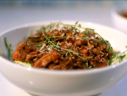 Vegetarian Zoodles Bolognese