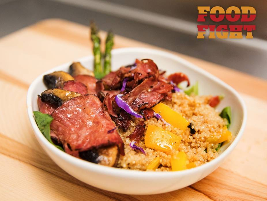 Pastrami and Quinoa Bowl